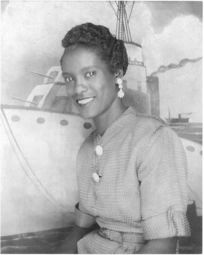 Ella Mae Barnes, Leslie's mother and my grandmother.