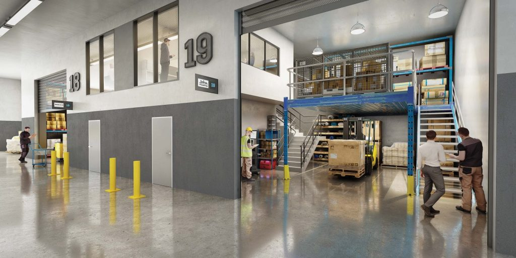 The Mavis Quad - Revesby NSW - Industrial warehouse and office units