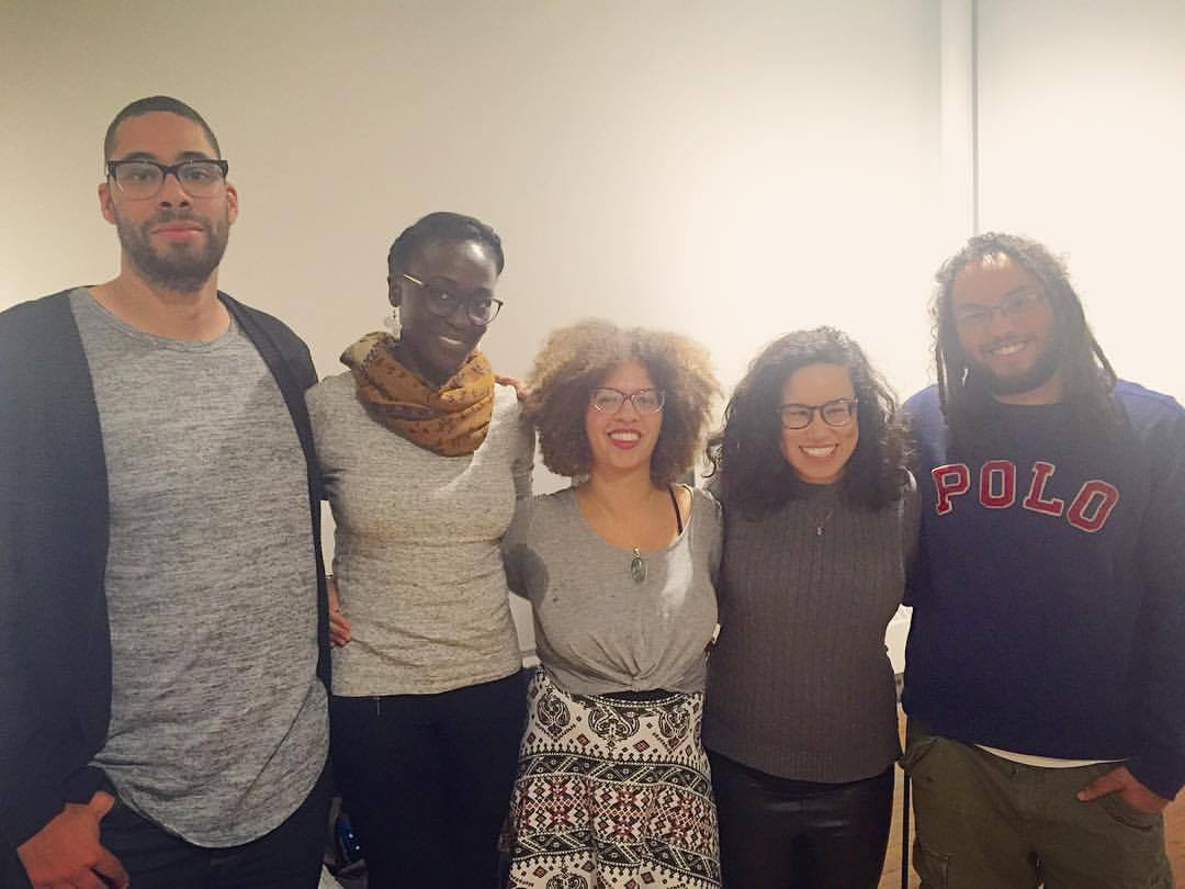 Unarmed Verses Panelists: Travis Ross |  Toe-lou Boyé | Ciel Sainte-Marie | Alexa Potashnik } KAIROS