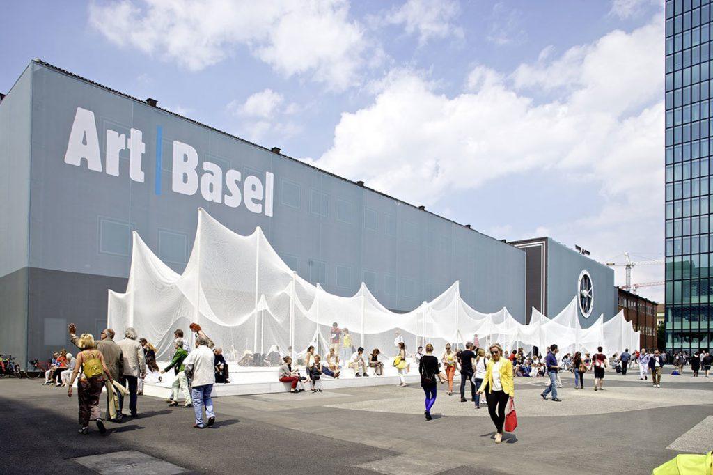 Art Basel, 2018. From    MySwitzerland   .