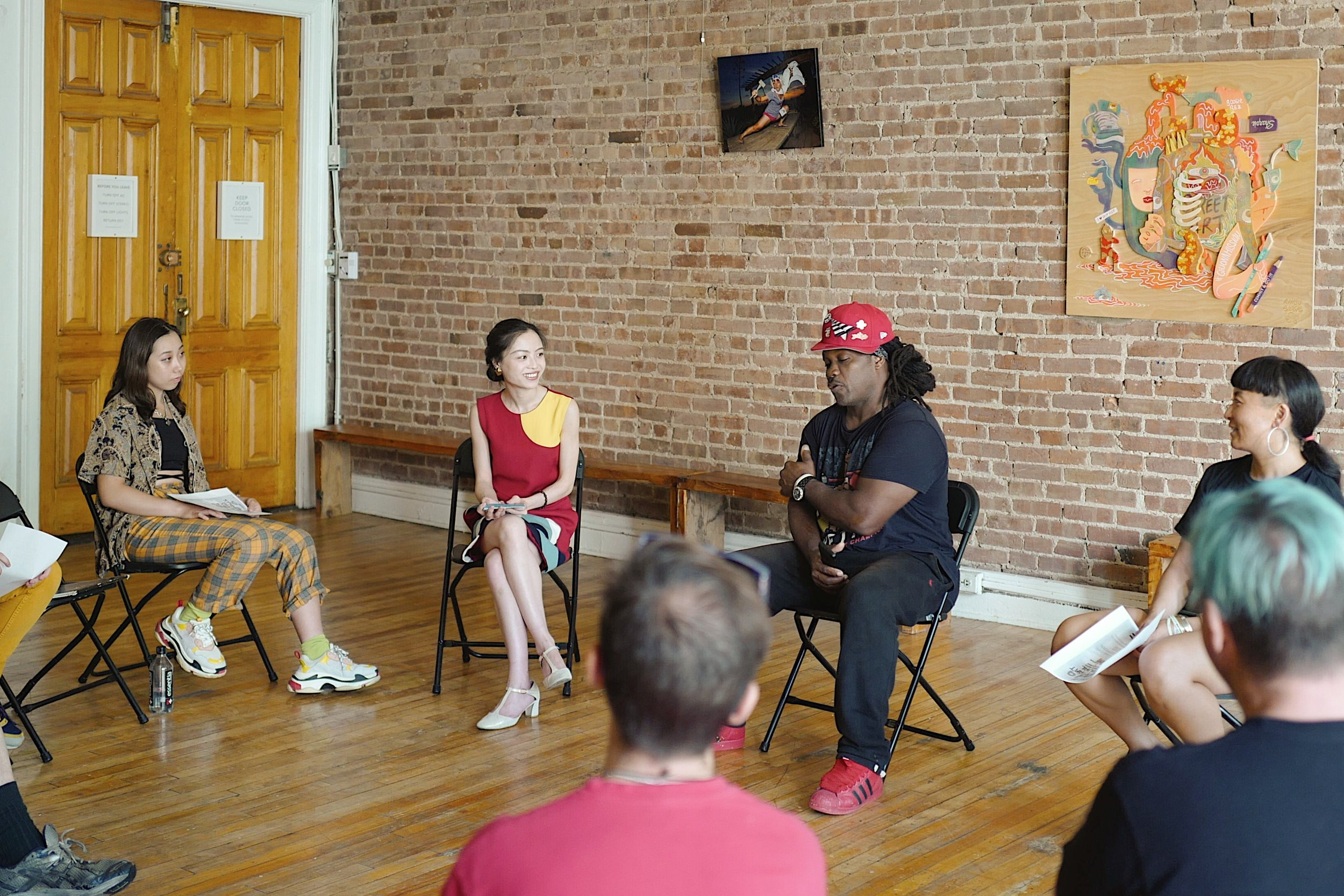 Q&A with BoogieRez, here artist Rezones answering one of the questions.