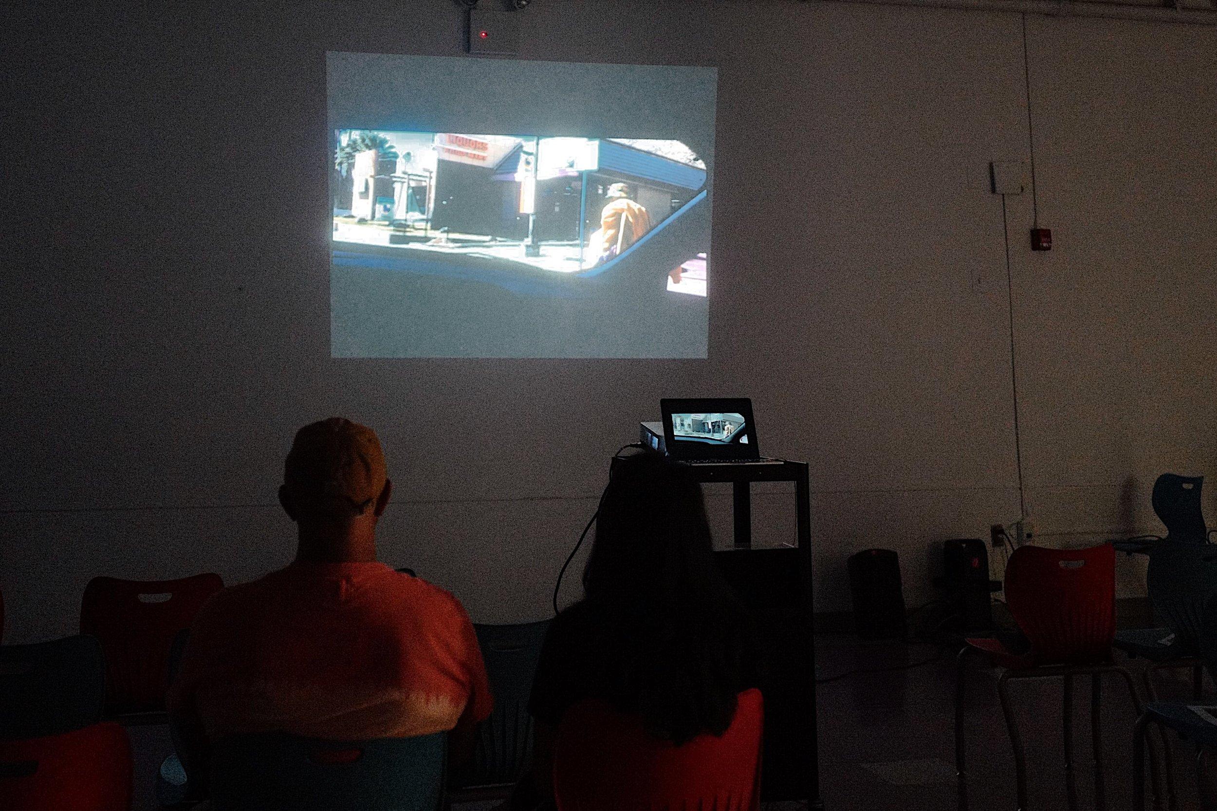 "Film Screening of Tysen Knight's ""Homeless Street Artist""."