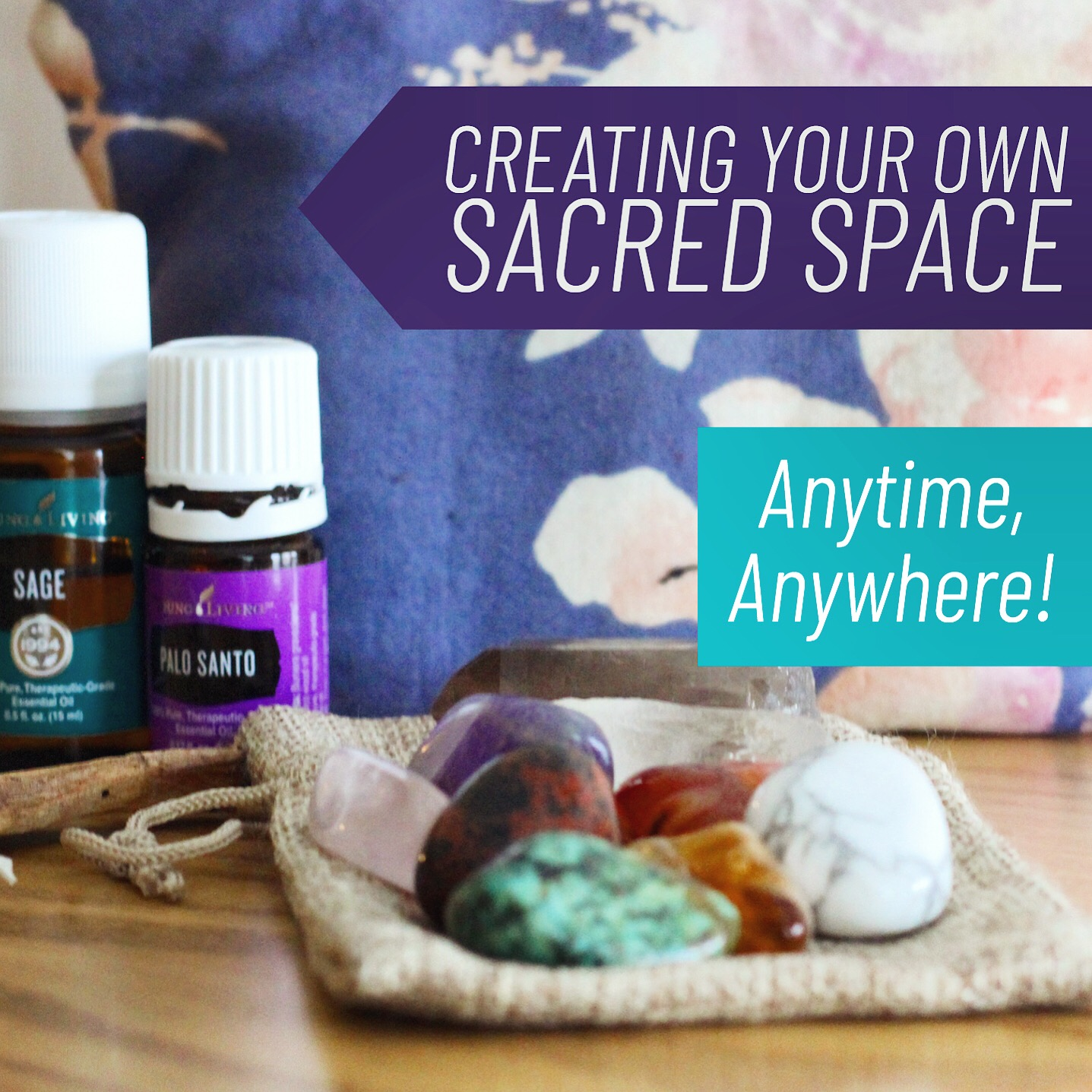 Learn my favorite ways to create your own Sacred Space!