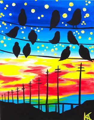 Gathering at Sunset (Patty Baker).jpg