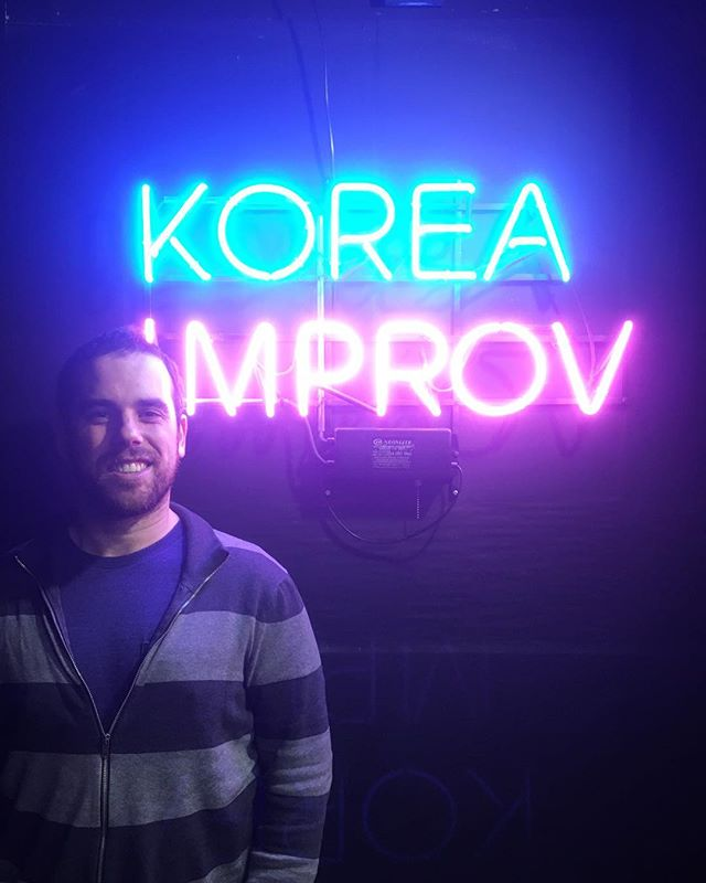 A quick (and very late) shout out to Lee Cohen for a great workshop and sharing some of your Second City expertise in Seoul! Hope to see you again!