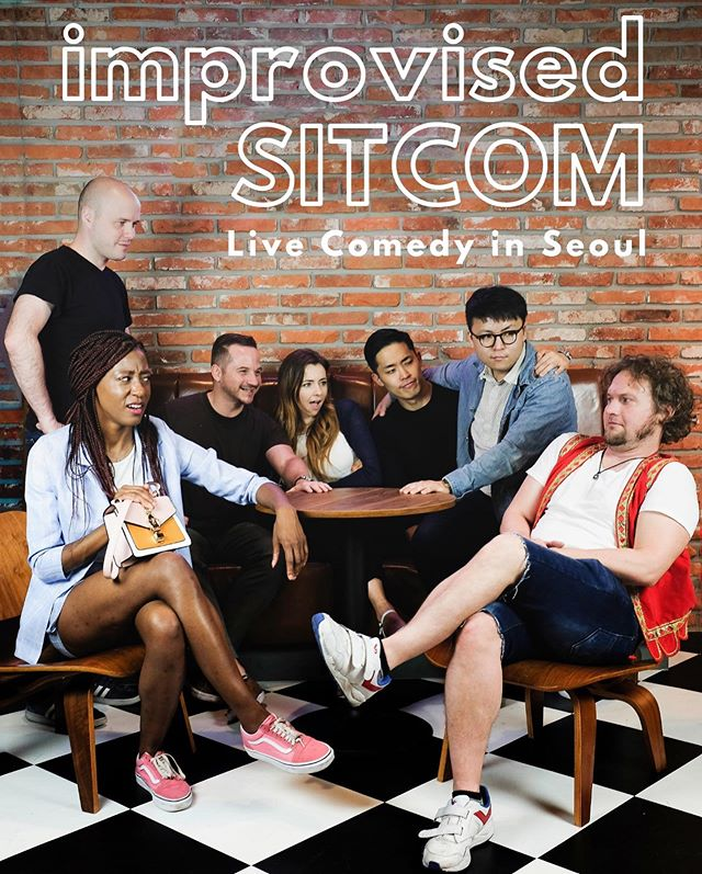 Live comedy in Seoul! This Saturday! In English! - Come see our wildly popular sitcom format, followed by comedy inspired by our friends over at @projectball! - Doors 7:30pm. Show 8:00pm. 5000KRW. BYOB! Check out our website for details!