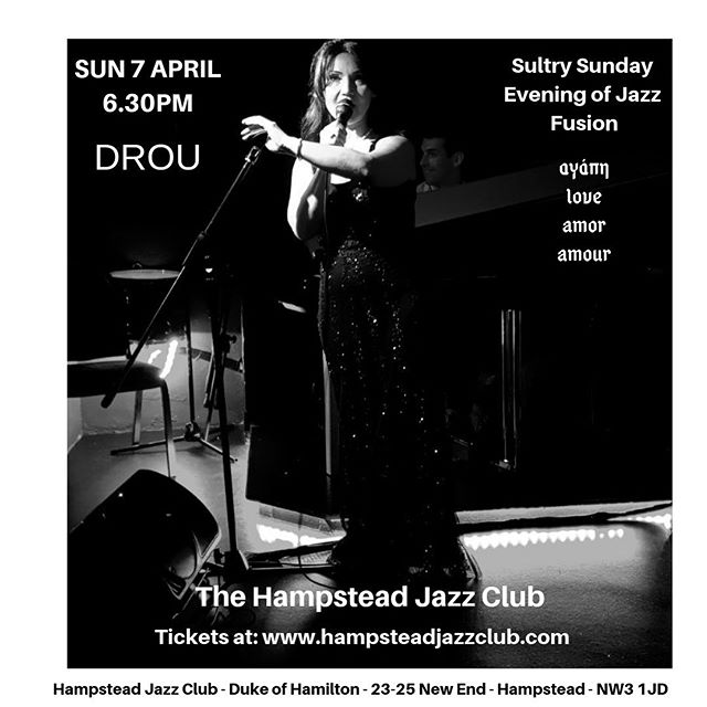 Just love that era of Jazz when elegance, style and dress set the scene just as importantly as the performance.  Immortal vintage Jazz is my thing! Dress ready & pressed, hair prepped and voice resting.  See you all tomorrow @hjcjazzclub - Filakia/kisses 💋 @mrshinchhome @visithampstead @londongreekradio @greeksconnect @hellenic_tv @jazzlondonlive @londonjazzcall @livemusicdubai @livelovemusicleb @greek_music_to_the_max @greekboston @jazzdiscover @londonlivemusic @greeklondonlive @londonjazzfest @highgatelondon #liveshow #liveevent #barnet #jazzsinger #livesinger #jazzclub #sunday #sundaynight #muswellhill #southgate #london#hampsteadheath #hampstead