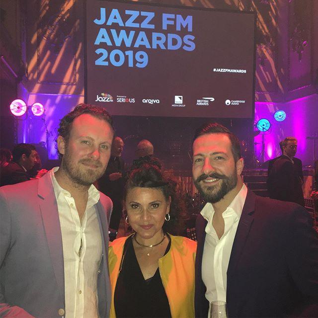 Great night @jazzfmuk awards last night.  Hampstead Jazz Club & Duke of Hamilton Pub family! Looking to collaborate for some exciting International nights of food & live music - First Being 'GREEK NIGHT' all the way.  Watch this space! @thedukenw3 @lateralizeltd @hjcjazzclub @greekmusiclovers @greeksconnect @londongreekradio @parikiaki @greeksinlondon_greeksinuk @therealgreekuk @jazzdiscover @jazzrefreshed @seriouslivemusic @dubai.events @lebaneseevents @greekweddings @greekweddings #singer #greeksinger #englishsinger #frenchsinger #spanishsinger #jazz #jazzmusic #performer #entertainment #entertainer #music #band #musicians #greek #cypriot #greeks #greeksinlondon #northlondon #greekwedding #weddingsinger #hampstead #london
