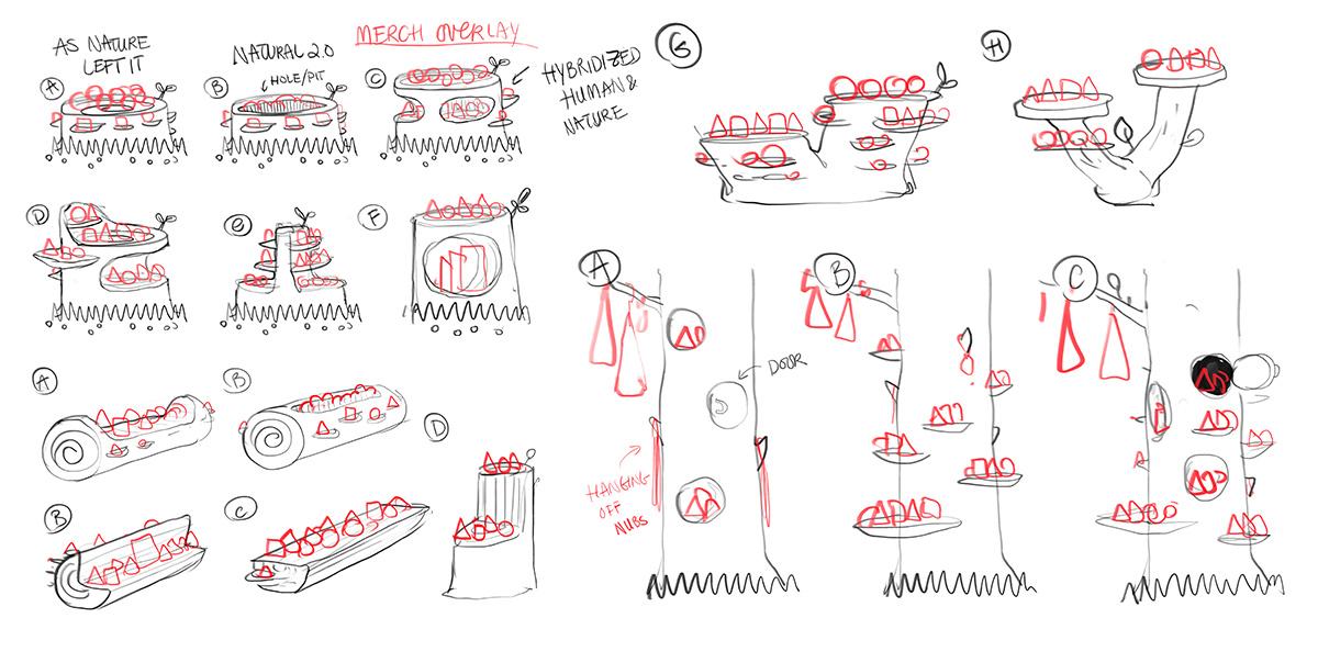 Brainstorming Shelf Systems