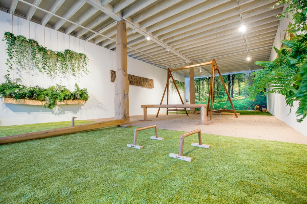 Biophilic Gym Yoga Natural Fitness Studio Biofilico Design Studio