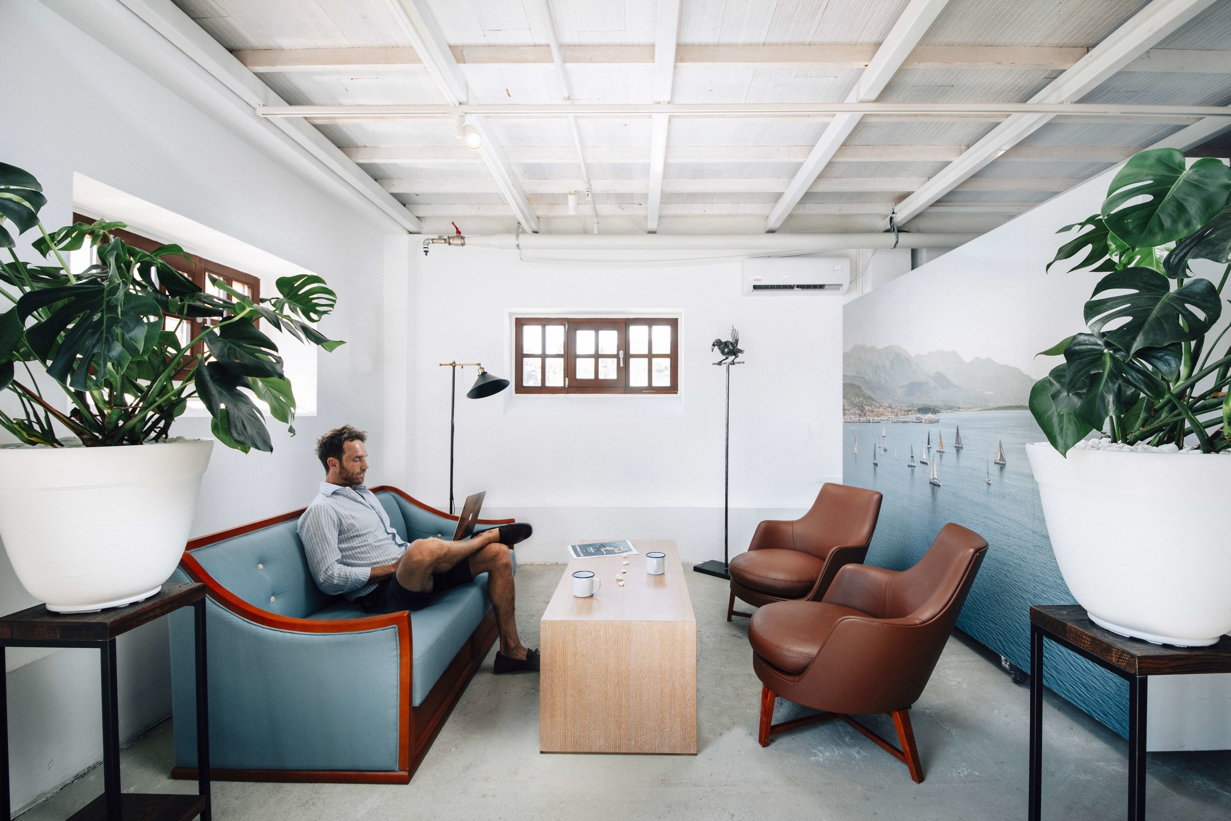 Healthy Interior Design at the Innovation Centre coworking