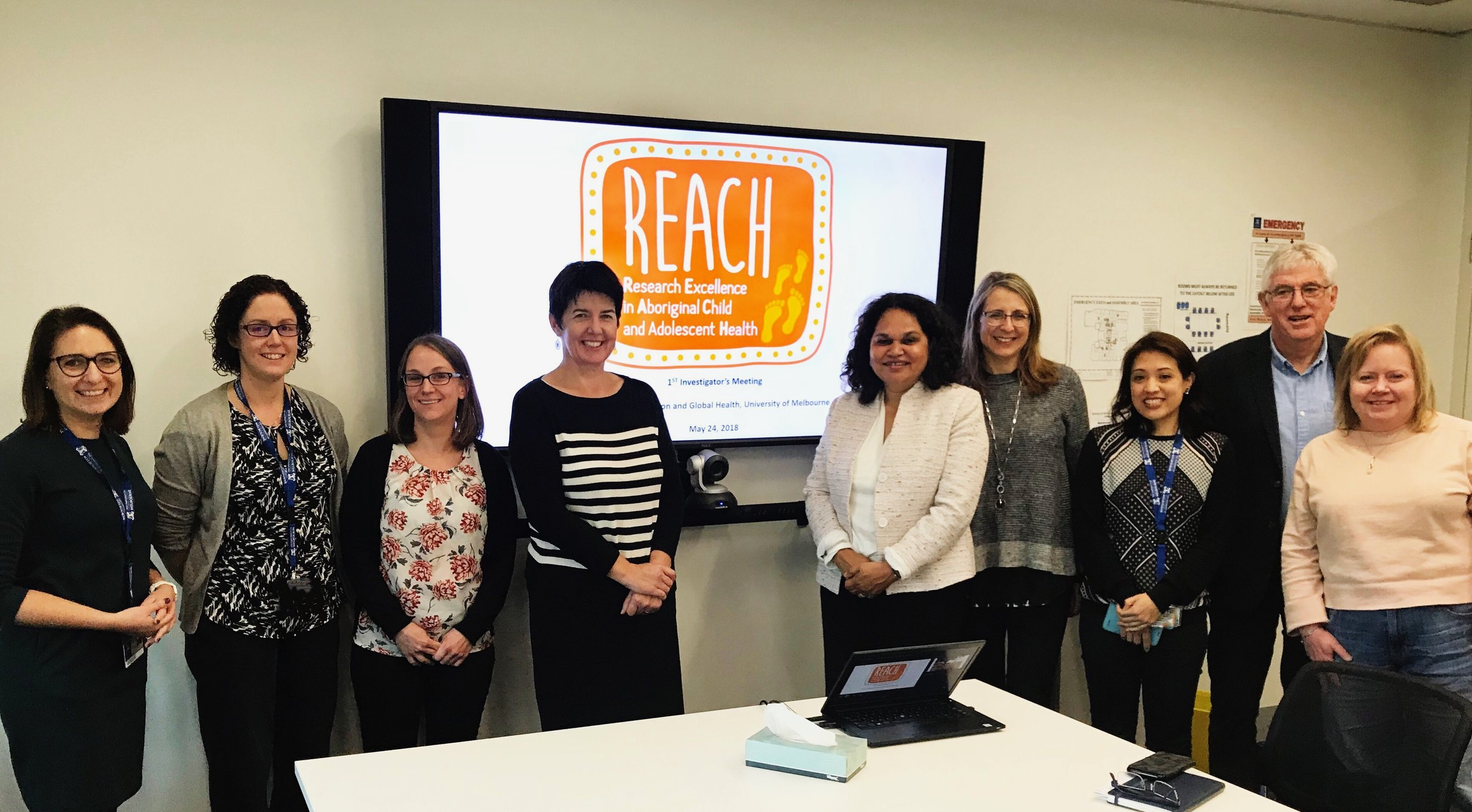 About - CRE REACH is an NHMRC funded Centre of Research Excellence led by Professor Sandra Eades. Awarded in 2017 the five year work program willimprove Aboriginal child and adolescent health through Aboriginal leadership and collaborative research teams. Bringing together a diverse group of leading public health researchers across more than a dozen separate research projects and four priority themes CRE REACH is building the future Aboriginal research workforce while focusing on the policy sensitive risk factors for children and adolescents.