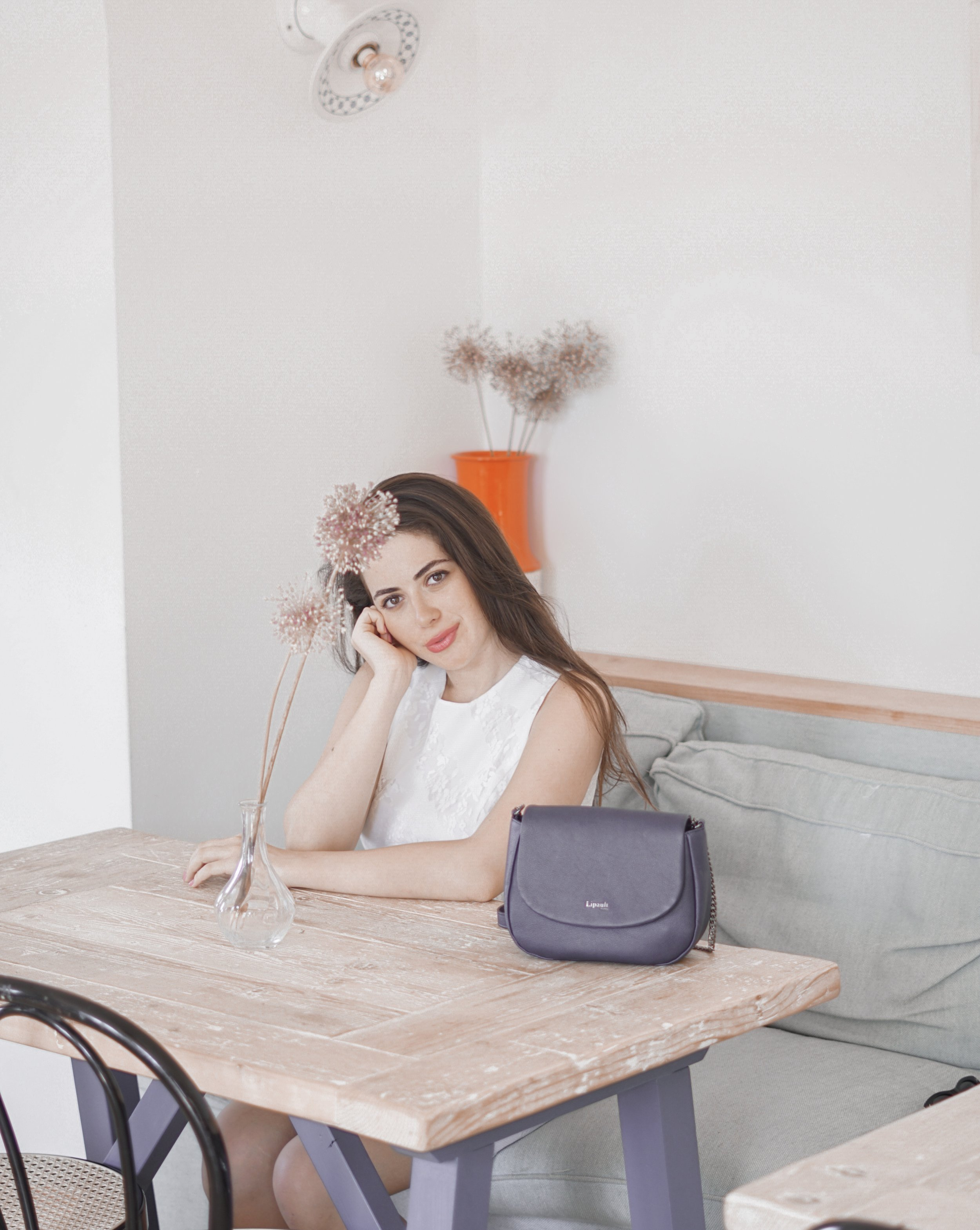 I took my Lipault bag to many locations with me as I loved it so much. Look at how cute and elegant it looks in photos as well!