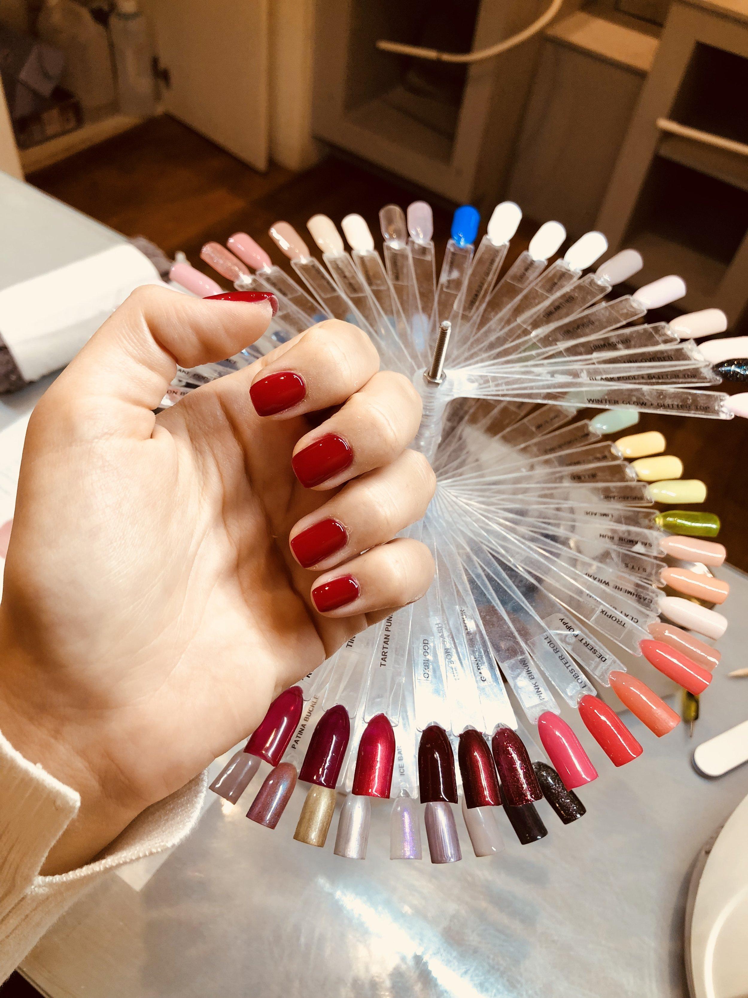 Grace Nails: Colour Selection