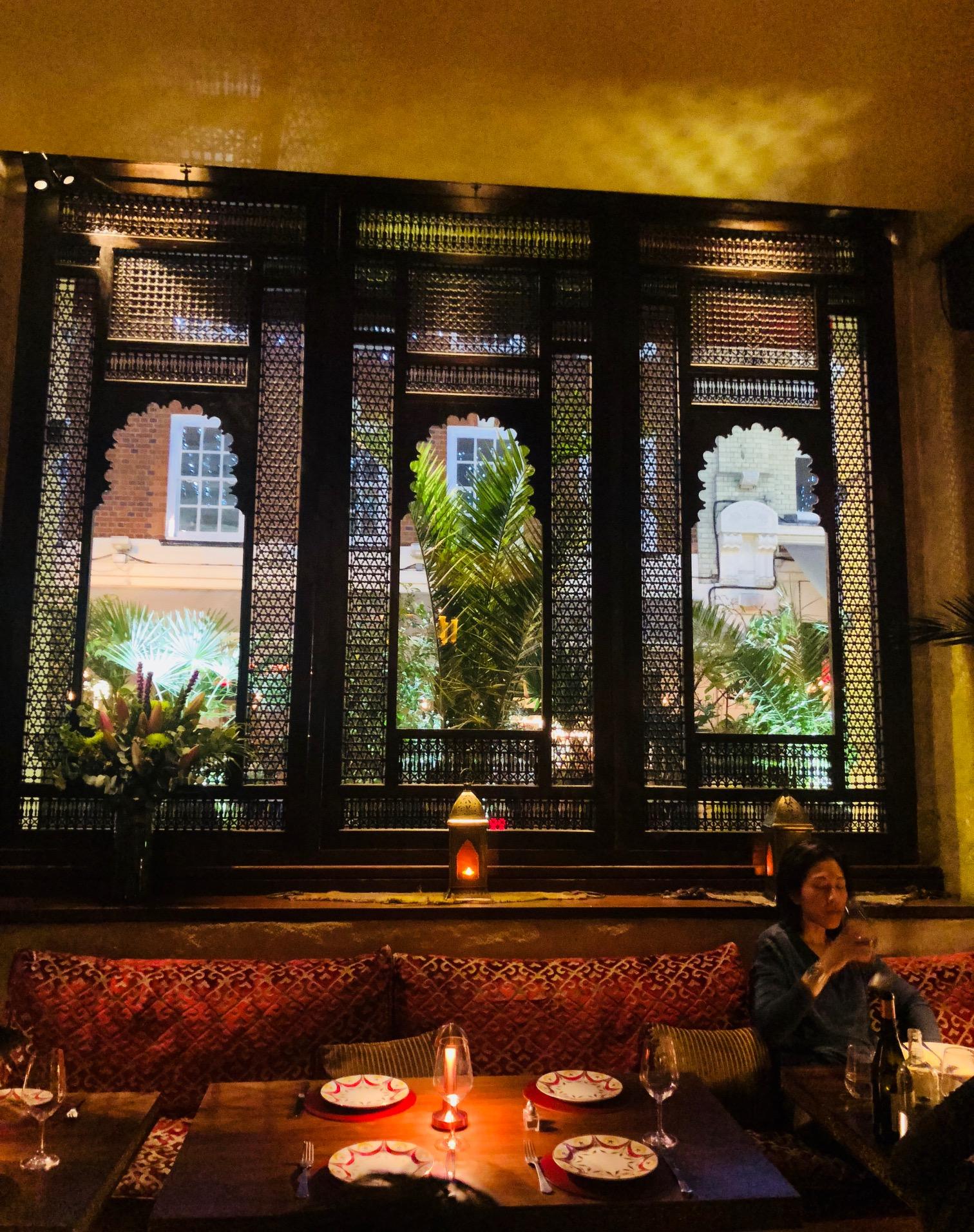 Beautiful Interiors of the Restaurant
