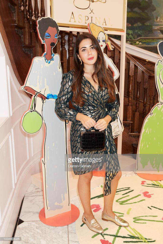 Karen Millen: Atelier Collection Outfit (Credit: Getty Images)