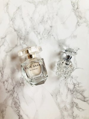 Elie Saab    Le Parfum  is one of my favourite classics since 5 years, and is a very different, elegant and timeless scent. Try before you buy!