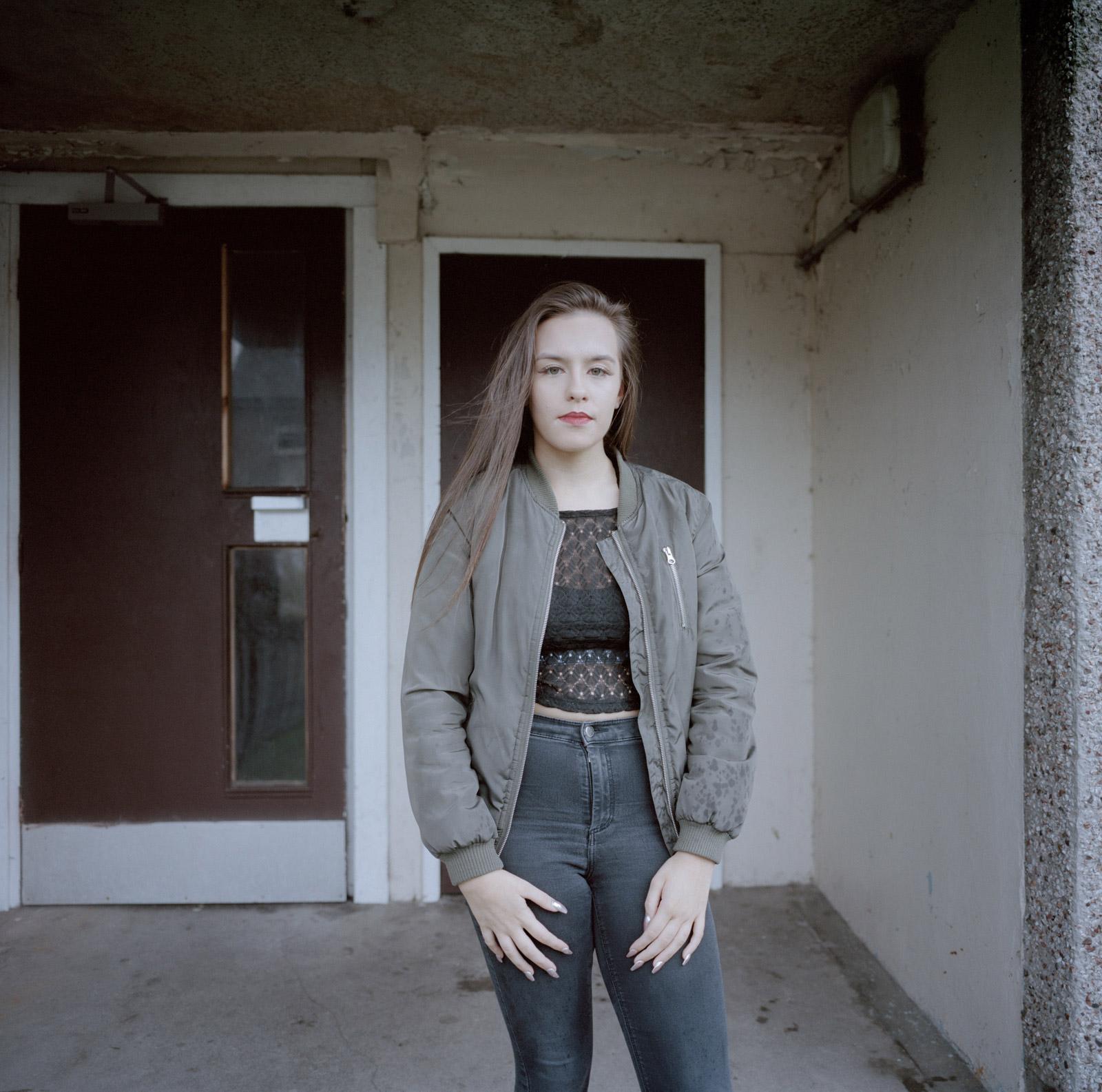 Courtney, Kellie's daughter