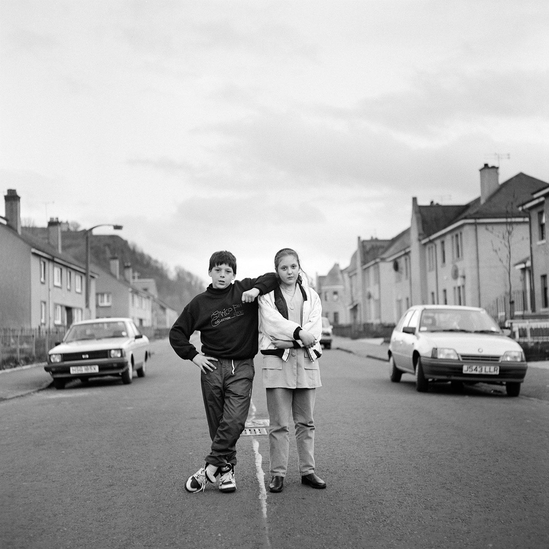 Kids in Menzies Drive