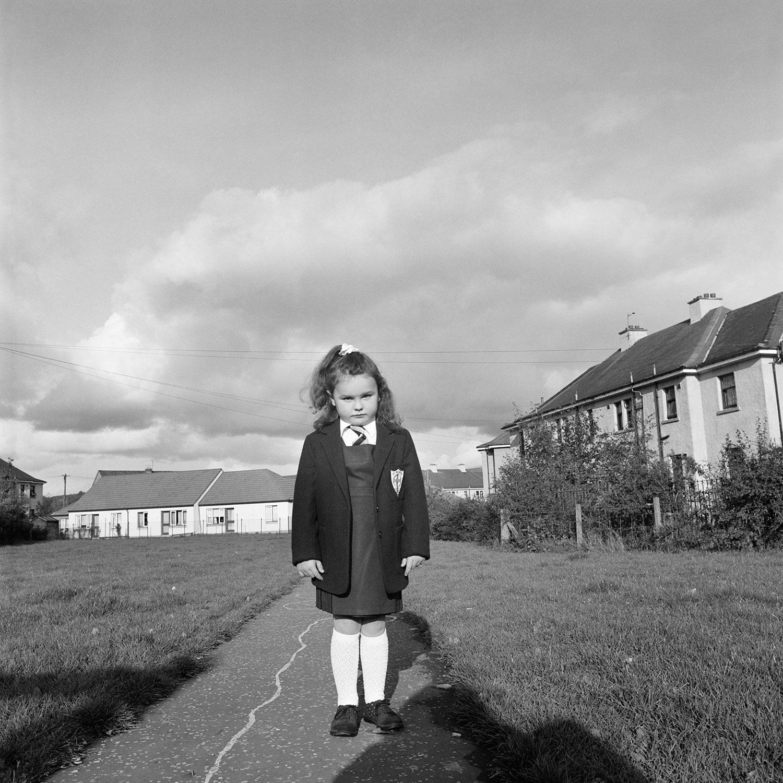Lyndsay, first day of school
