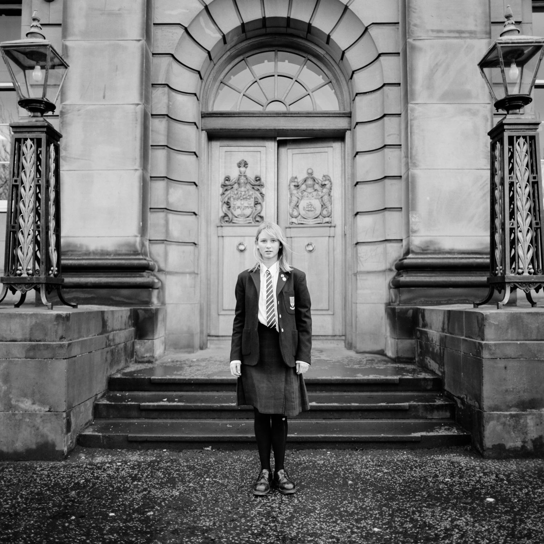 Private School Girl, Edinburgh