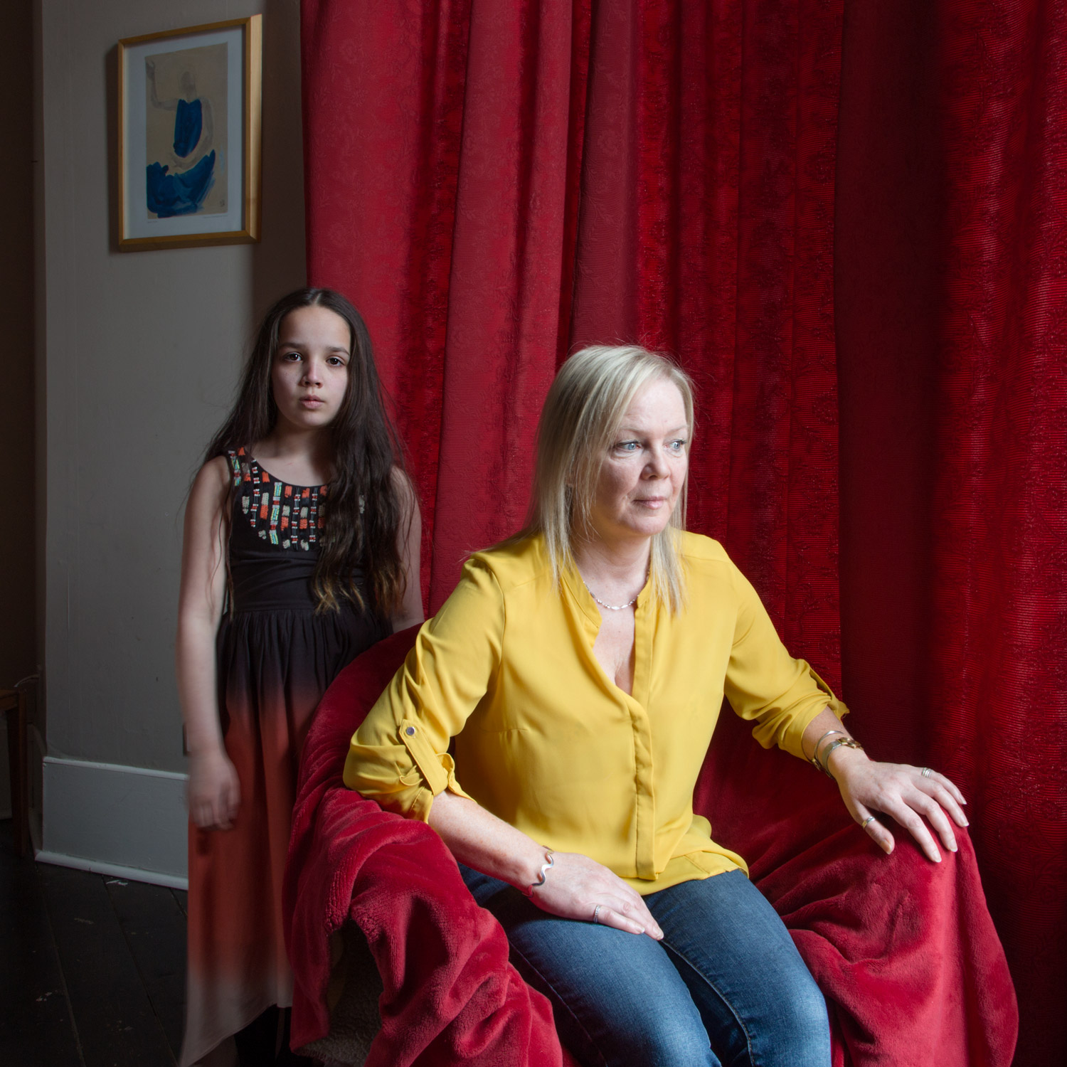 Marie and her daughter Olivia  From the book 'Invisible Britain: Portraits of Hope and Resilience'
