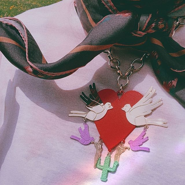 """""""Mexican Heart"""" Necklace 🔥❤️🔥❤️🔥❤️🔥❤️🔥 ✨🌶🌵🐥❤️🐥🌵🌶✨"""