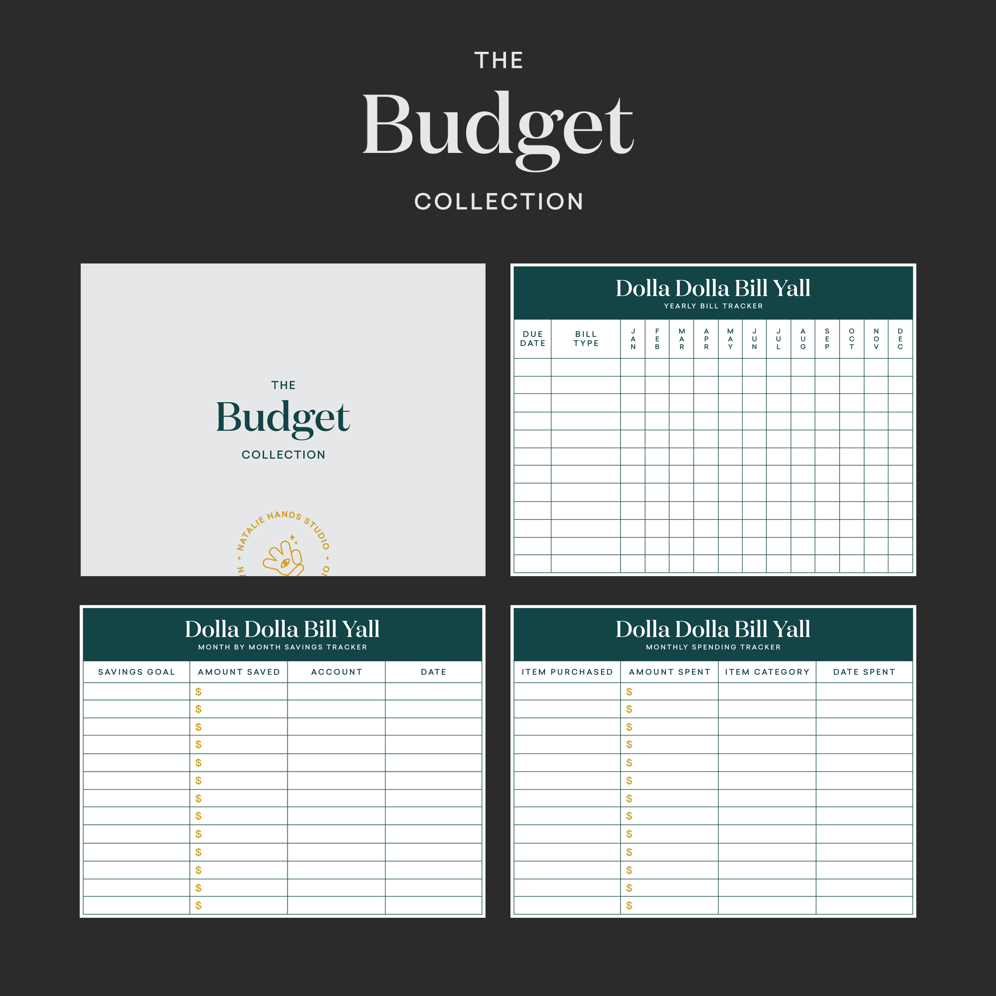 The Budget Collection By Natalie Hands Studio