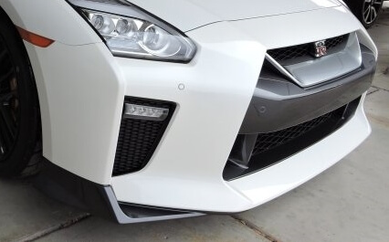 Nissan GTR got wrapped with Xpel Ultimate paint protection film / clear bra
