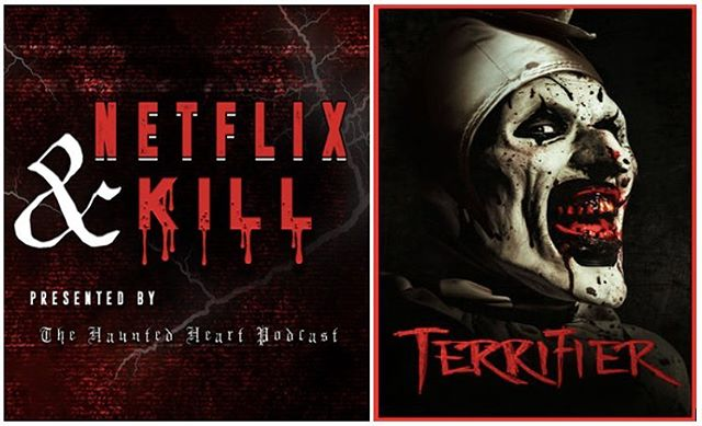 Welcome to Monday, fam.😣 Make heading back into the office a little easier with our latest #netflixandkill episode! This week we're discussing #terrifier and the national fucking treasure that is @davidhowardthornton. 🤡🖤 . . #thehauntedheartpodcast #thehauntedheart #podcast #stayspooky #trashtalent #spooky #scary #creepy #horror #macabre #goth #gothic #witchcraft #witchesofinstagram #wicca #truecrime #killers #serialkillers #crime