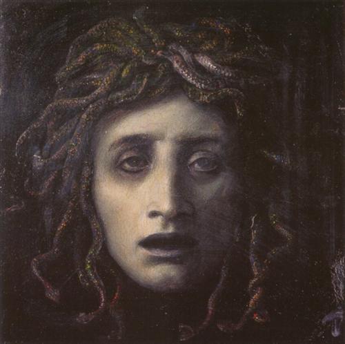Medusa - Arnold Bocklin