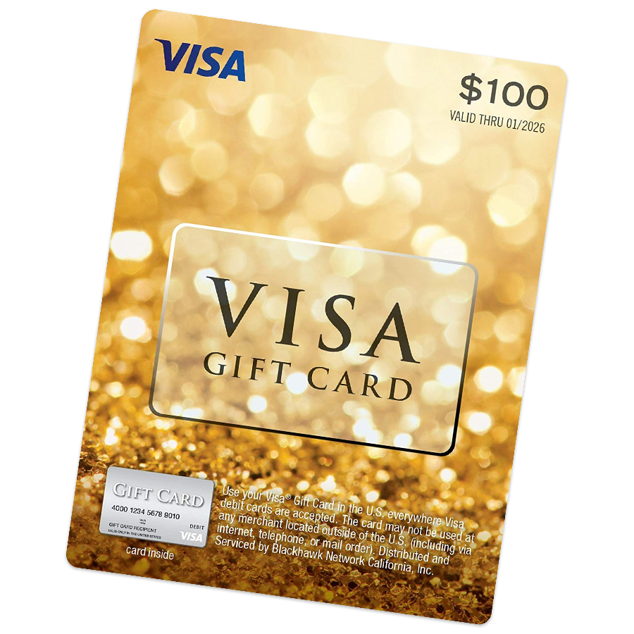 Get a $100 VISA Gift Card when you're one of the first 25 to sign up. - (one card per company)
