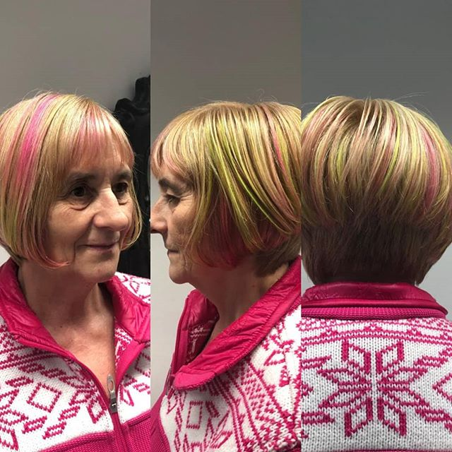 Von unserer yeliz 😊  #shorthair #haircut #haircolor #schwarzkopfpro