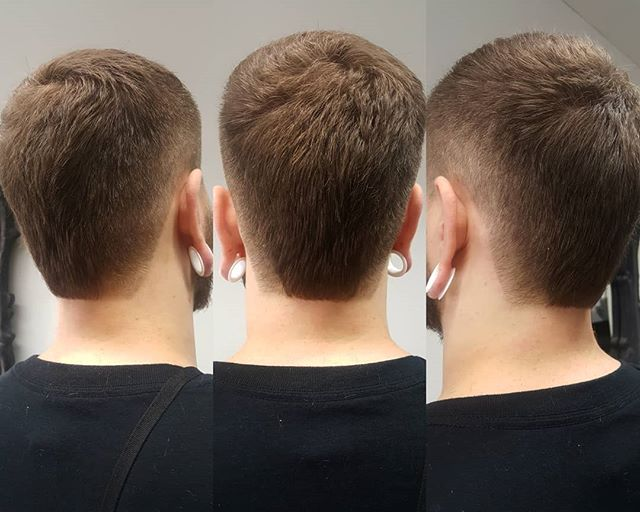 #hairlooks #haircut #menstyle #menhaircuts #menhairstyles #menhaircut #undercutnbg #photoofthedays #photoofthedays #photooftheday #pictureoftheday #picoftheday #shorthair #ironhair #tunnelpiercing