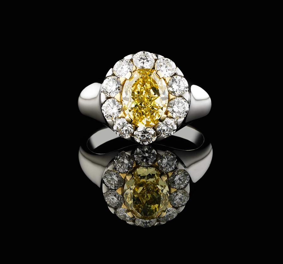 BUNDA Alcazar Yellow Diamond Ring