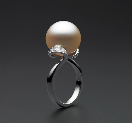 BUNDA Lyra South Sea Pearl Ring