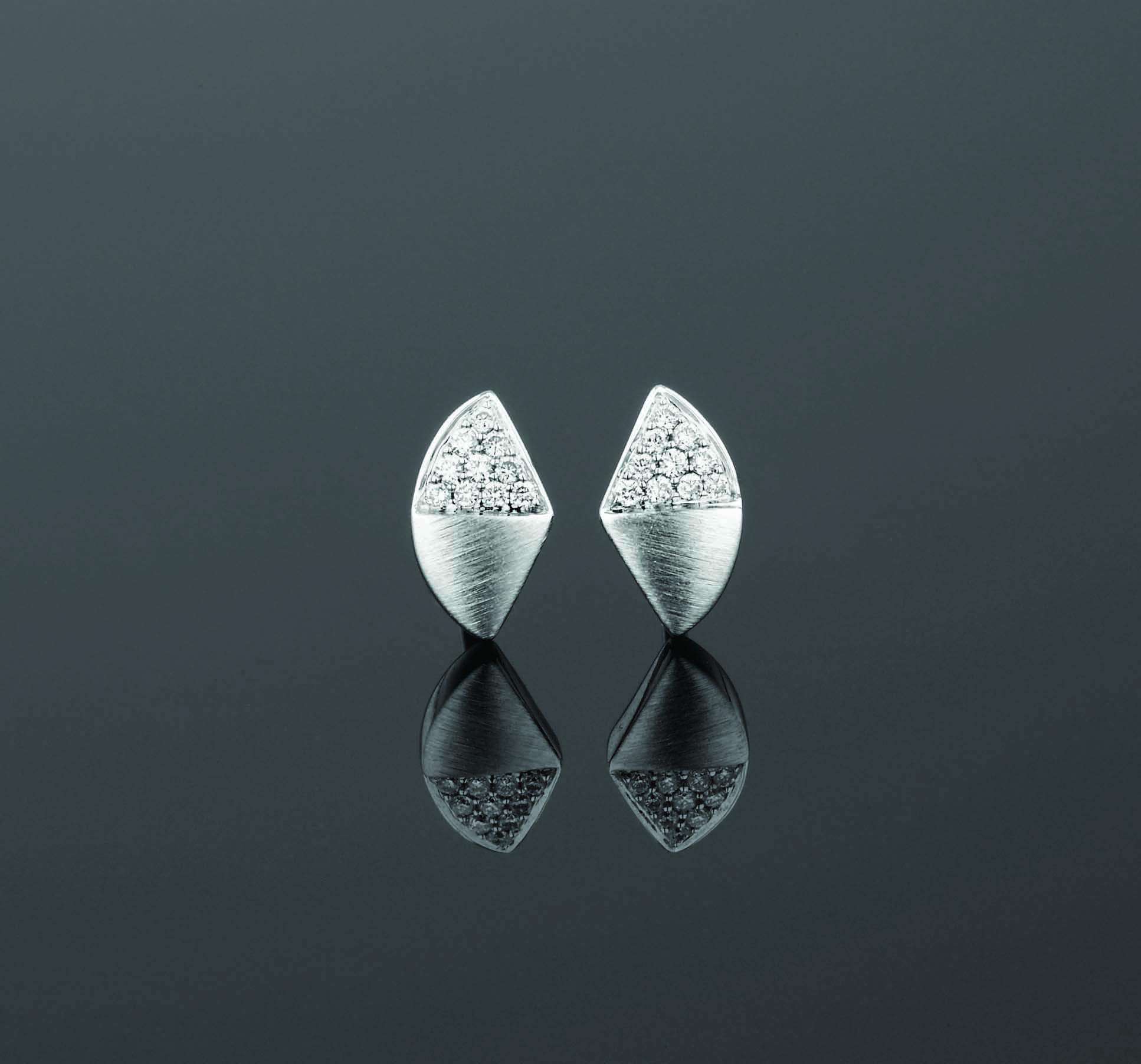 BUNDA Apus Wedge Stud Earrings $1,850
