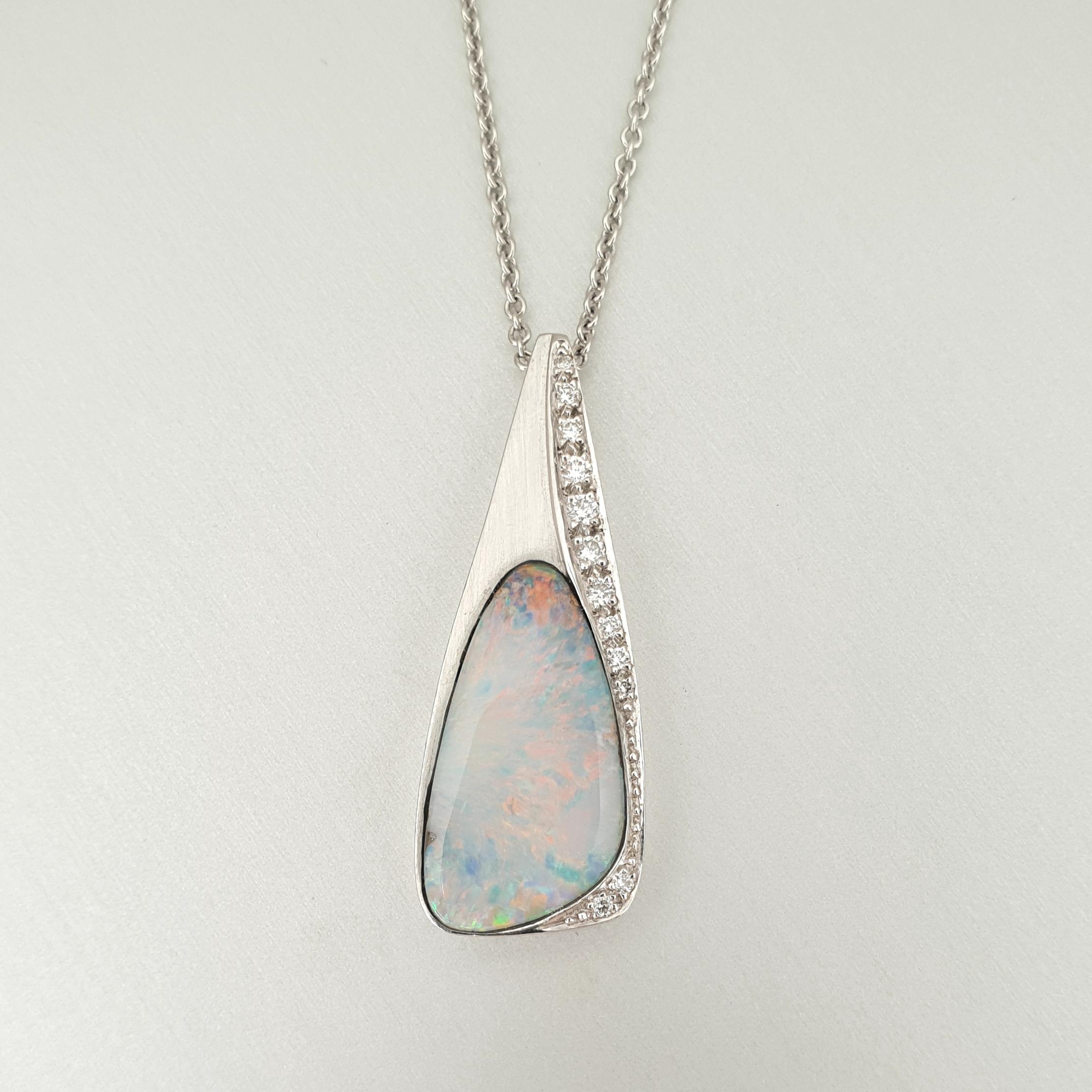 'Caelum' Boulder Opal Pendant