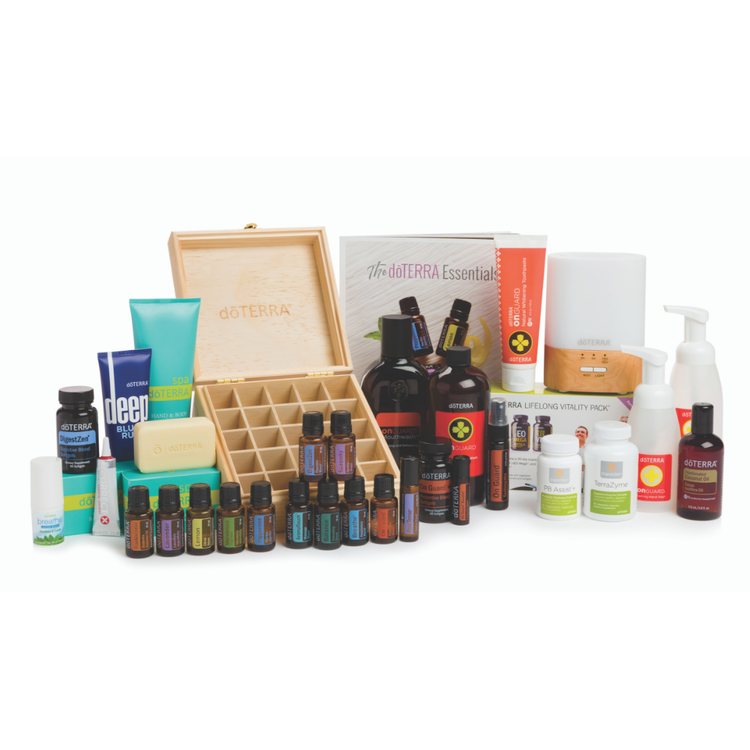 Natural Solutions Kit - Experience the power of doTERRA essential oils and products through the Natural Solutions Enrollment Kit. This kit is a perfect for folks that are ready to jump all in and switch to a more natural lifestyle! It's a HUGE value!!Purchase the Natural Solutions Kit (400 PV) and have a 100 PV Loyalty Rewards order the following month* to get 100 points back to spend on ANYTHING you want! You'll also start accruing points at 15 percent! WOW!!
