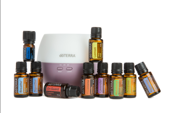 Home Essentials Kit - The Home Essentials Kit includes full sized bottles of doTERRA's top 10 oils along with a petal diffuser! This kit is perfect for new and experienced users alike and can help you tackle a wide array of health concerns. There's a reason it's my MOST POPULAR kit!