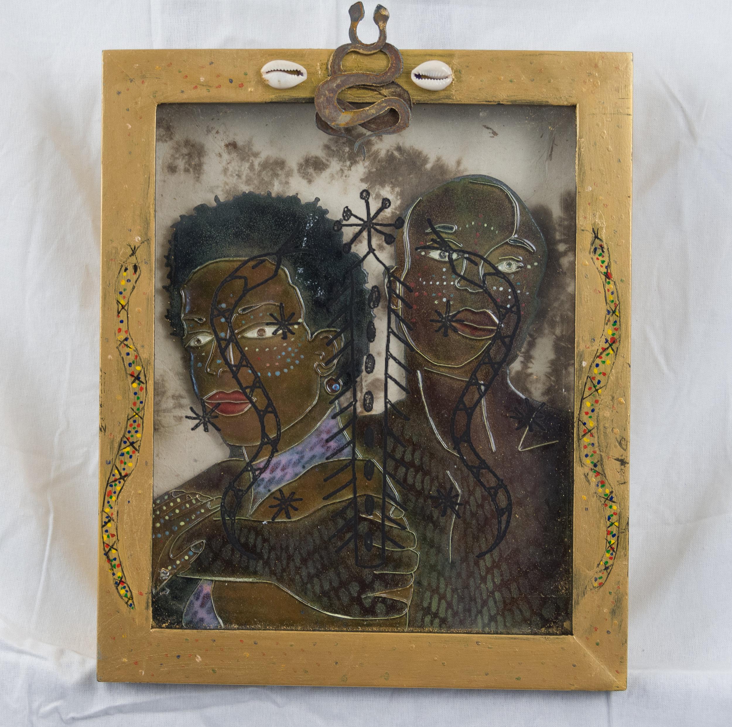 Damballah and Ayida Wedo, the Serpent and the Rainbow
