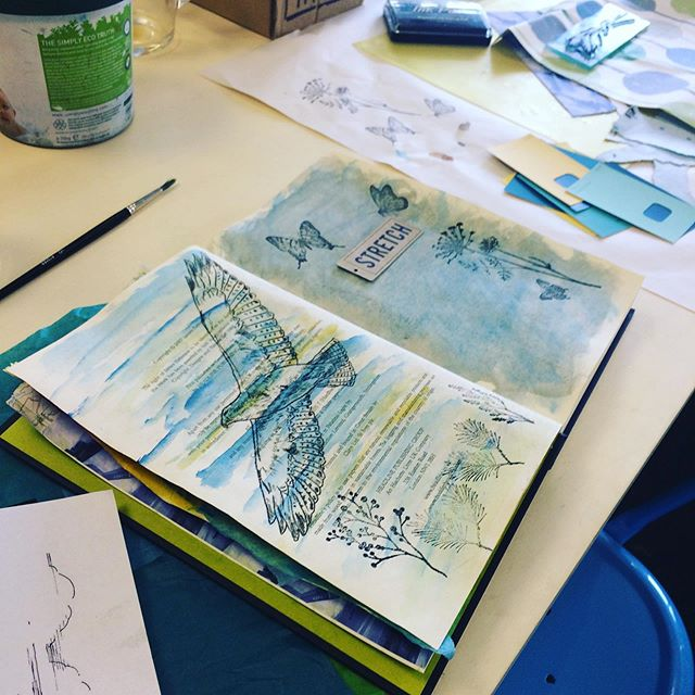 This Friday sketchbook club joins Art 4 Wellbeing in another chilled out art class. No pressure just space to be creative in your own way. 10am-12 this Friday @woodingsyardstudios  #artschool #chill #create #sketchbook #mentalhealth #mentalhealthawareness #health #enjoy