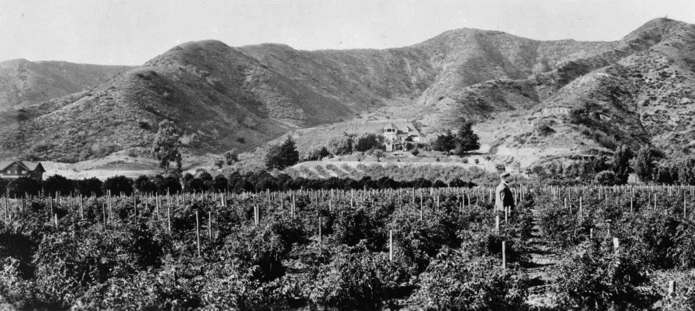 he Harper Ranch at the foot of Laurel Canyon.