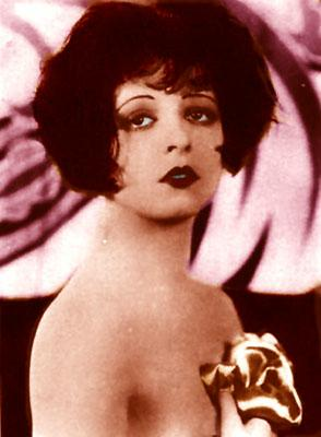 """Clara Bow, Hollywood's """"IT"""" girl and one of the sexiest actors before imposition of the Code of Decency,"""