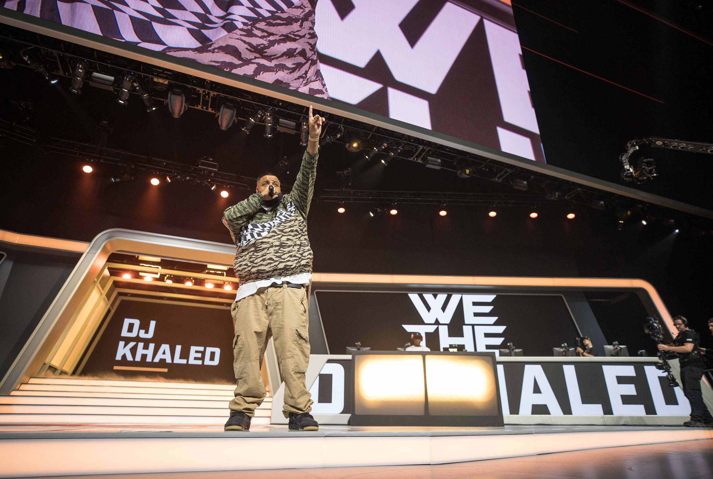 Overwatch League Grand Finals, DJ Khaled performing live while London Spitfire and Philadelphia Fusion perparing for championship round at Barclays Center on July 27, 2018 in Brooklyn, New York.  Photo by Hannah Smith / ESPAT Media