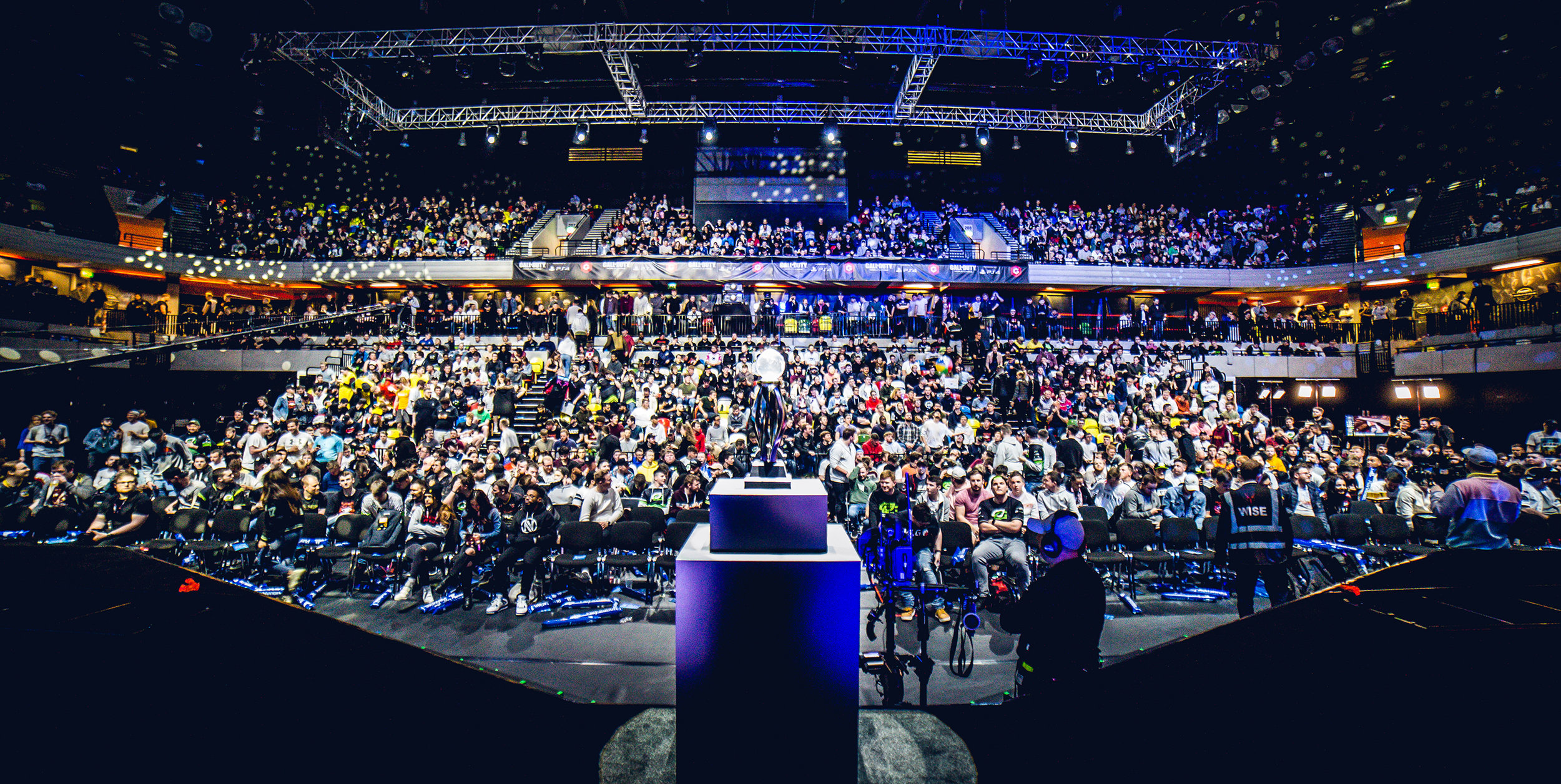 LONDON, ENGLAND - May 5, 2019: Call of Duty World League crowd at Copper Box Arena on May 3, 2019 in London, England. (Photo by Joao Ferreira/ESPAT Media)