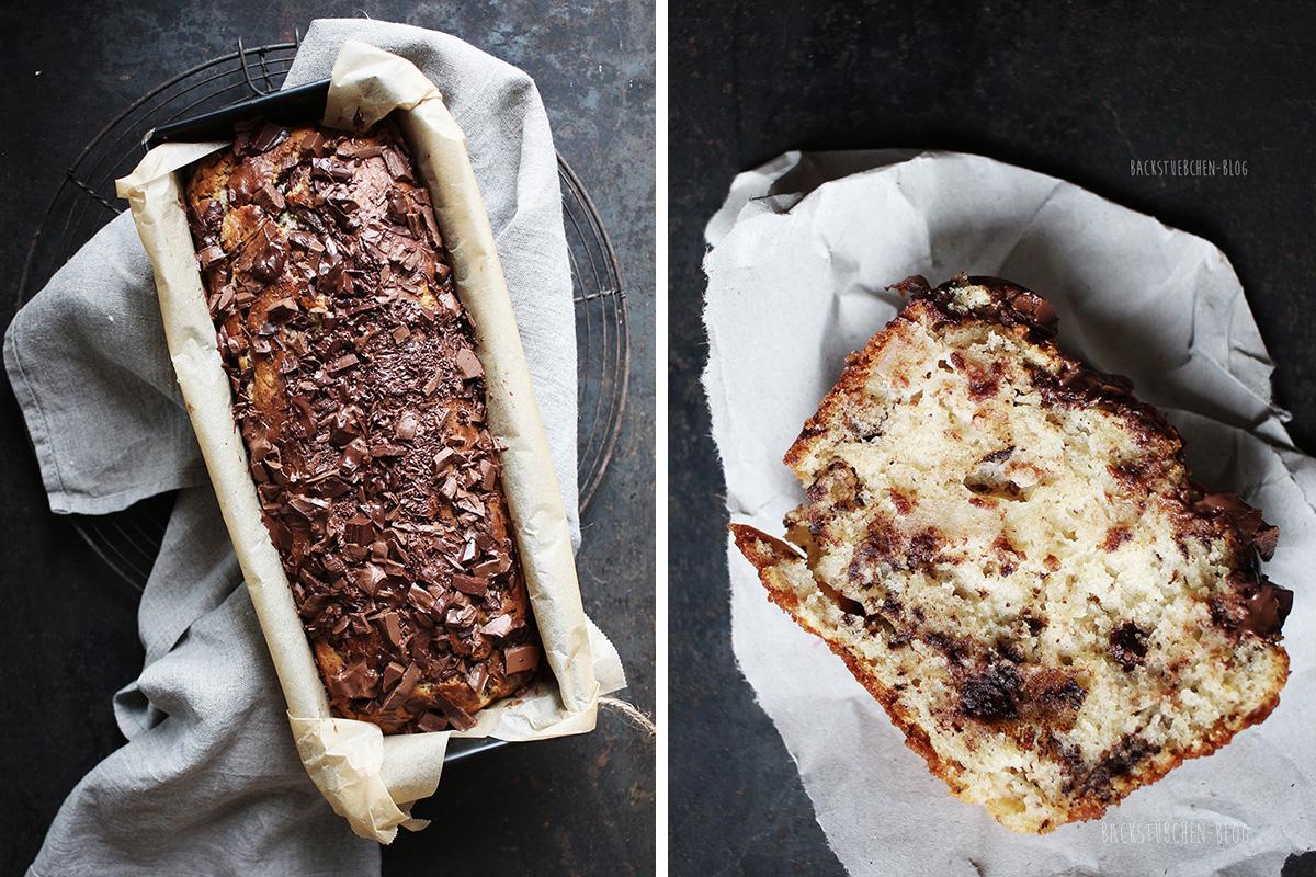 Bananen-Schoko-Kuchen mit Ricotta