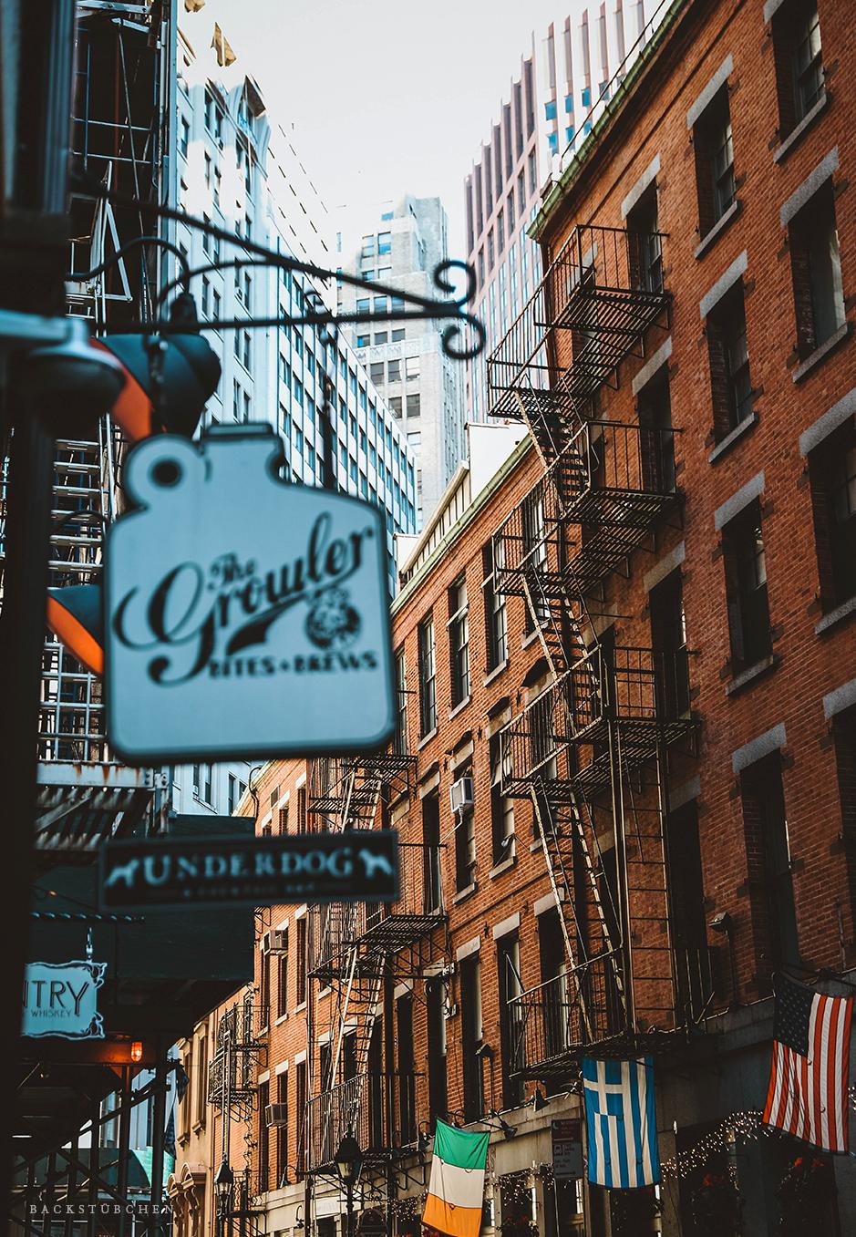 Stone Street Manhattan