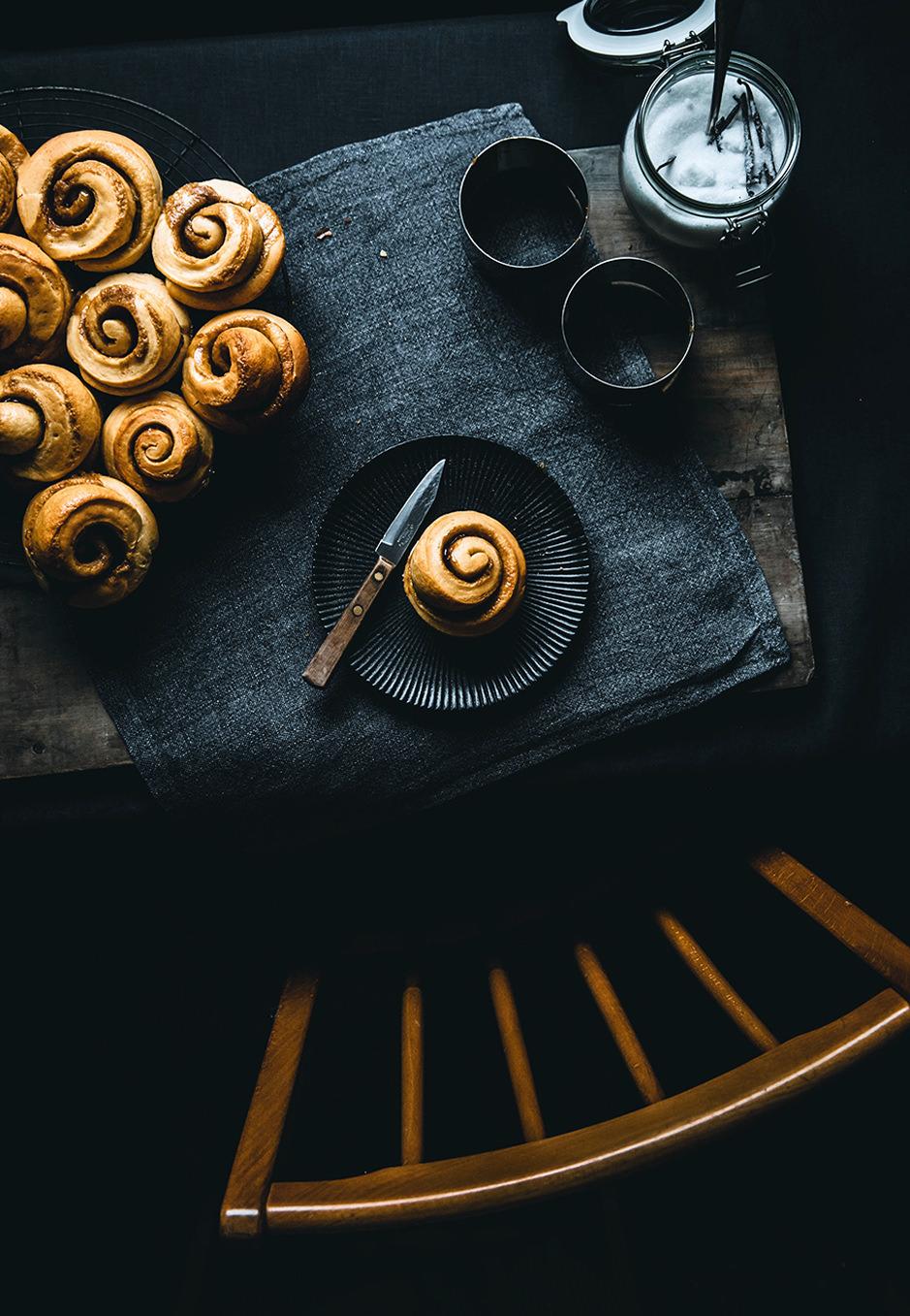 Zimtschnecken aus Hefeteig und der Muffinform sind einfach herzustellen