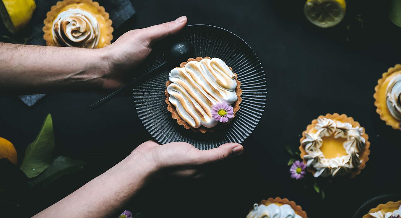 Zitronen-Tartelettes sorgen für den Frischekick, egal zu welcher Jahreszeit.